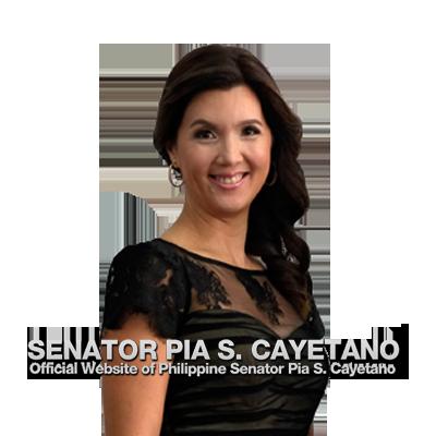 Senator Pia Cayetano